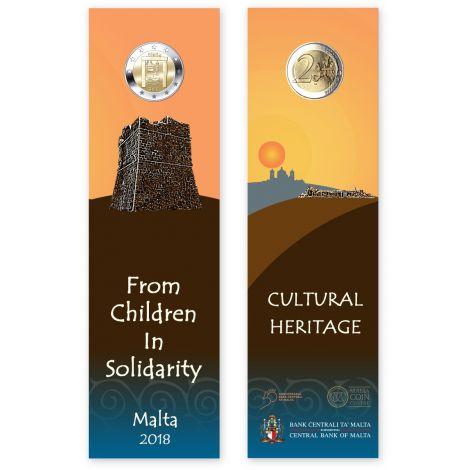 Malta 2018 2 € Kulttuuriperintö COINCARD
