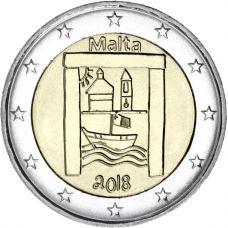 Malta 2018 2 € Kulttuuriperintö UNC
