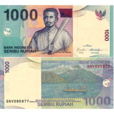 Indonesia 2009 1000 Rupiah P141j UNC