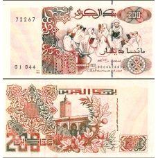 Algeria 1992 200 Dinars P138 UNC