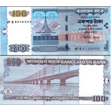 Bangladesh 2010 100 Taka P49g UNC