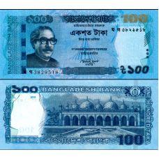 Bangladesh 2015 100 Taka P57e UNC