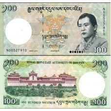 Bhutan 2011 100 Ngultrum P32b UNC