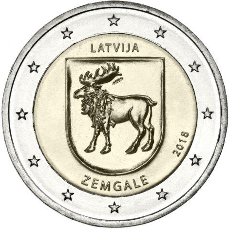 Latvia 2018 2 € Zemgale UNC