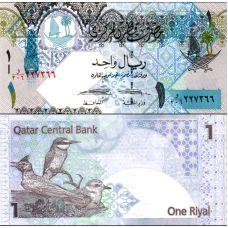 Qatar 2015 1 Riyal P28-U2 UNC