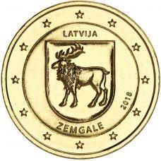 Latvia 2018 2 € Zemgale KULLATTU