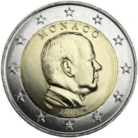Monaco 2018 2 € UNC