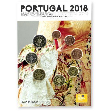 Portugali 2018 Rahasarja FDC