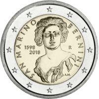 San Marino 2018 2 € Gian Lorenzo Bernini UNC