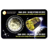 Belgia 2018 2 € ESRO-2B - ranska COINCARD