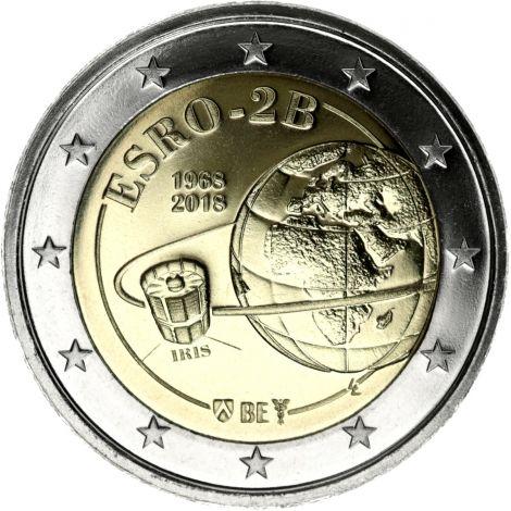 Belgia 2018 2 € ESRO-2B UNC