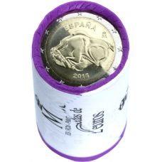Espanja 2015 2 € Altamira RULLA