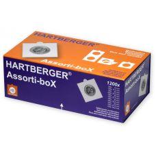 Hartberger Assorti-box 1200 kpl kehystä tarralla