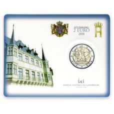 Luxemburg 2018 2 € Guillaume I COINCARD