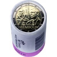 Luxemburg 2018 2 € Guillaume I RULLA