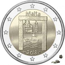Malta 2018 2 € Kulttuuriperintö MdP UNC
