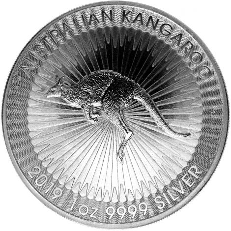 Australia 2019 1 Dollar Kangaroo 1 Unssi HOPEA
