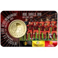 Belgia 2018 2,5 € Red Devils NL COINCARD