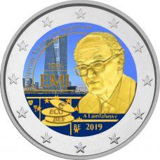 Belgia 2019 2 € EMI 25 vuotta VÄRITETTY