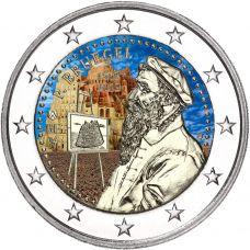 Belgia 2019 2 € Pieter Bruegel VÄRITETTY