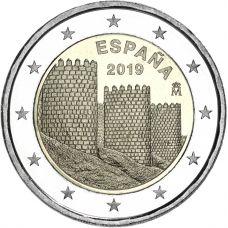 Espanja 2019 2 € Avila UNC