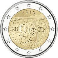 Irlanti 2019 2 € Dail Eireann UNC