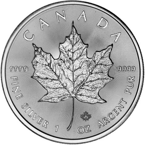 Kanada 2019 5 Dollars Maple Leaf 1 Unssi HOPEA