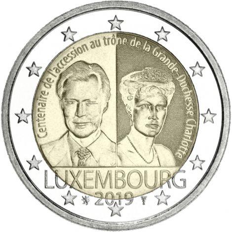 Luxemburg 2019 2 € Charlotte UNC