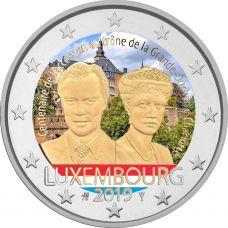 Luxemburg 2019 2 € Charlotte VÄRITETTY