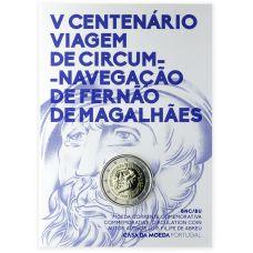 Portugali 2019 2 € Fernao de Magalhaes COINCARD