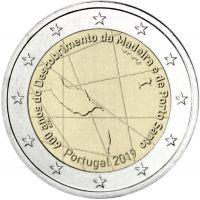 Portugali 2019 2 € Madeira UNC