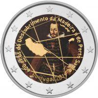 Portugali 2019 2 € Madeira VÄRITETTY