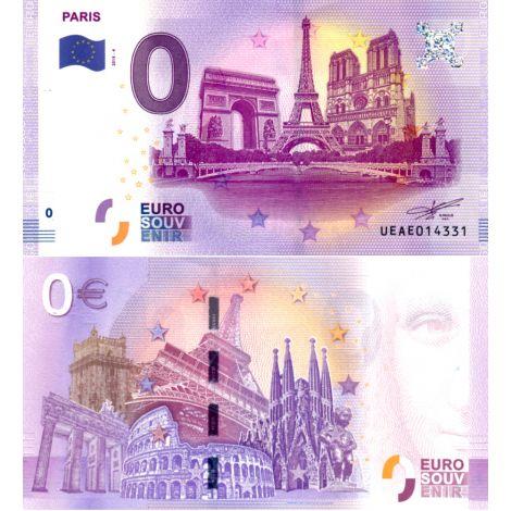 Ranska 2018 0 € Paris Tour Eiffel (UEAE 2018-4) UNC