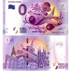 Saksa 2017 0 € Europa Park Voletarium (XEHZ 2017-2) UNC