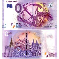 Saksa 2017 0 € Europa Park vuoristorata (XEHZ 2017-1) UNC