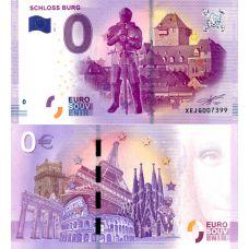 Saksa 2017 0 € Schloss Burg (XEJG 2017-3) UNC