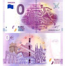 Saksa 2018 0 € FIFA - Ruotsi (XERU 2018-10-SE) UNC