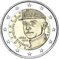 Slovakia 2019 2 € Milan Rastislav Stefanik UNC