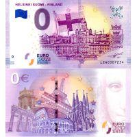 Suomi 2018 0 € Helsinki (LEAC 2018-1) UNC
