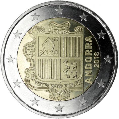 Andorra 2018 2 € UNC