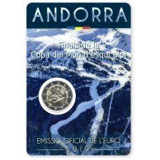 Andorra 2019 2 € Alppihiihdon maailmancupin finaali COINCARD