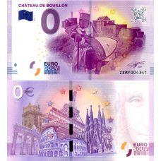 Belgia 2017 0 € Chateau de Bouillon (ZEMF 2017-1) UNC
