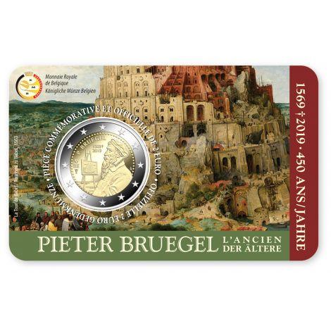 Belgia 2019 2 € Pieter Bruegel FR COINCARD