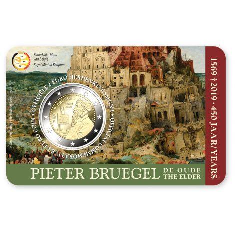 Belgia 2019 2 € Pieter Bruegel NL COINCARD