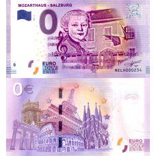 Itävalta 2017 0 € Mozarthaus Salzburg (NELH 2017-2) UNC