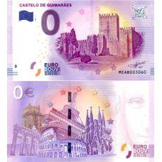 Portugali 2017 0 € Guimaraes (MEAB 2017-1) UNC