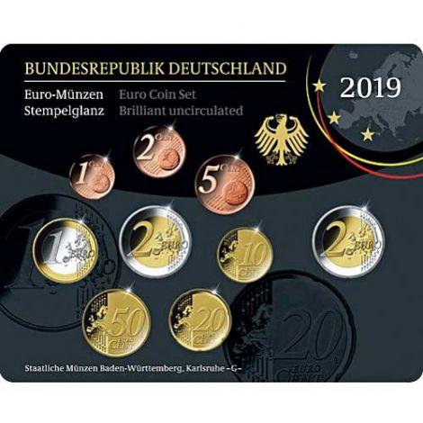 Saksa 2019 Rahasarja G BU