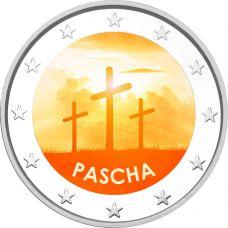 2 € Pääsiäinen - Pascha VÄRITETTY