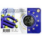 Belgia 2019 2 € EMI 25 vuotta NL COINCARD
