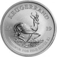 Etelä-Afrikka 2019 1 Rand Krugerrand 1 unssi HOPEA